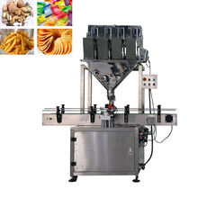 weighing filling machine granule pepper bottle filling machine peanuts