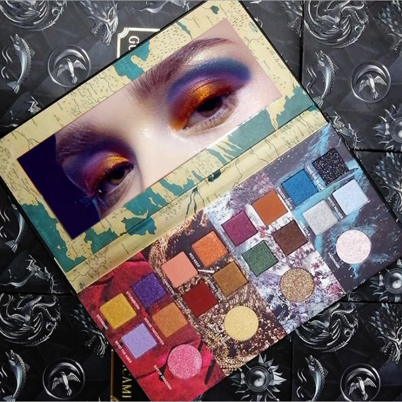 GOT Game Of Thrones In Edizione Limitata Super cool Ombretto Cosmetici Di Alta Qualità matte shimmer Eyeshadow Palette 20 Colori
