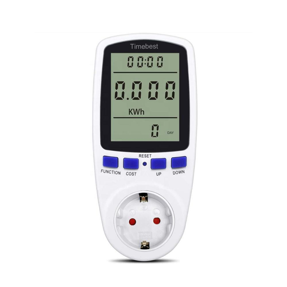 Voltage Current Volt Test Socket Watt Energy Power Meter