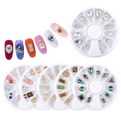 Nail Art Decoration Shiny Rhinestone Diamond Turntable