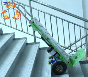 Stair climb Electric hand truck/hand truck, easy move to stair hand trolly/dolly,