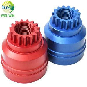 Customized Non-Standard Precision 4-axis 6063 Aluminum Gear CNC Machining Part