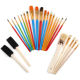 Brush Pen 25pcs Professional Practical Convenient Personalized Durable for Drawing Oil Painting Acrylic Painting Art Supplies