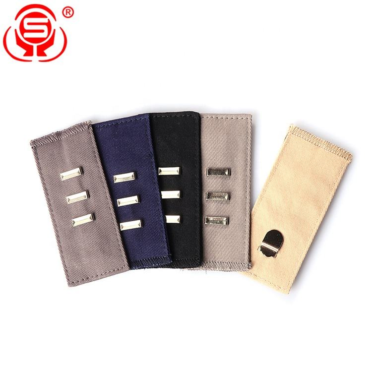 Wholesale Assorted Colors Elastic Waist Extenders Adjustable Waistband Expanders for Men and Women