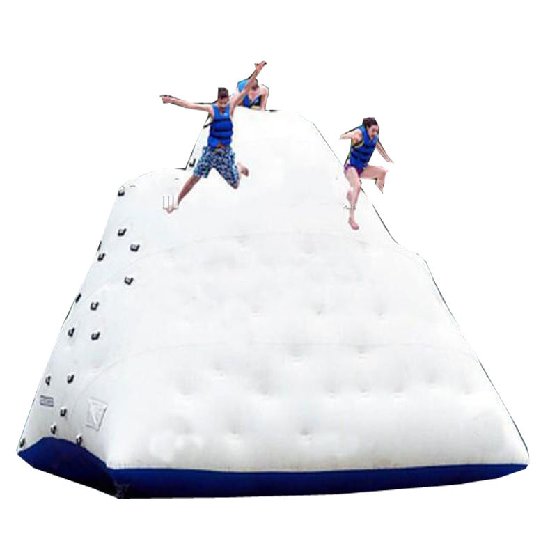 Aqua Park Water Game Inflatable Climbing iceberg Mountain Wall Inflatable ice berg Water Toy For Sale