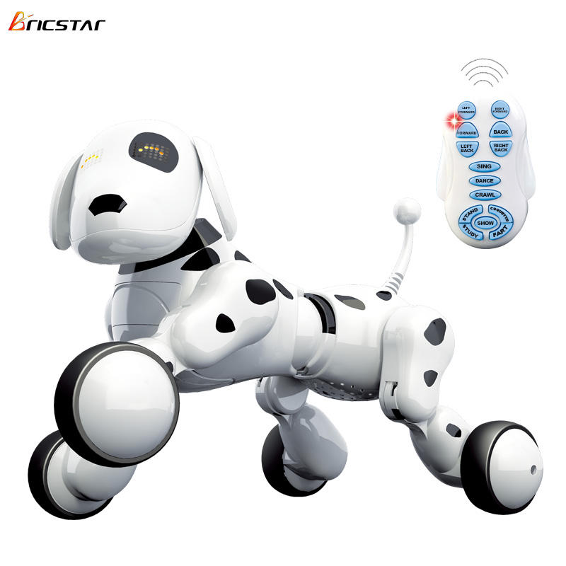 Bricstar robot for kids controller toys Programming Stunt Dancing intelligent robot dog, robot dog smart