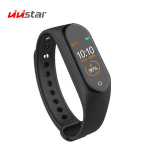 M4 Smartband with All-Day Heart Rate Monitor Smart Wristband Fitness Tracker Smartwatch Smart Watch for Men and Women