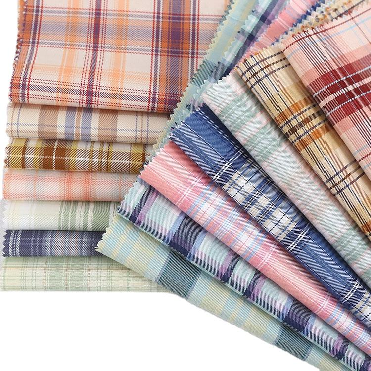 In-stocking Hot Sale Yarn Dyed Plaid Fabric 100% Cotton Yarn Dyed Plaid Fabric