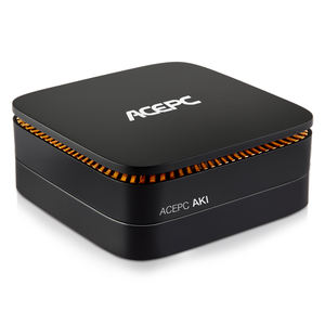AK1 4-core J3455 Ultra Low Power Mini PC For Video Games Office Home