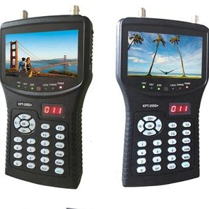 DIHAO Best Selling KPT-255G+ full digital satellite finder meter prices with DVB- S2 signal