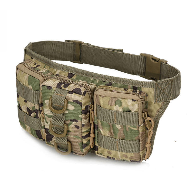 Custom Permanent Fanny Pack Waist Bag Running Waterproof Use Camo Cellphone Coin Belt Purse Waist Bag Mens Bum Bag