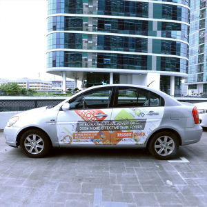 Premium Polymeric Self Adhesive Advertising Vinyl Car Sticker