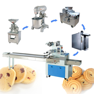 Oven industrial biscuit for small capacity production line
