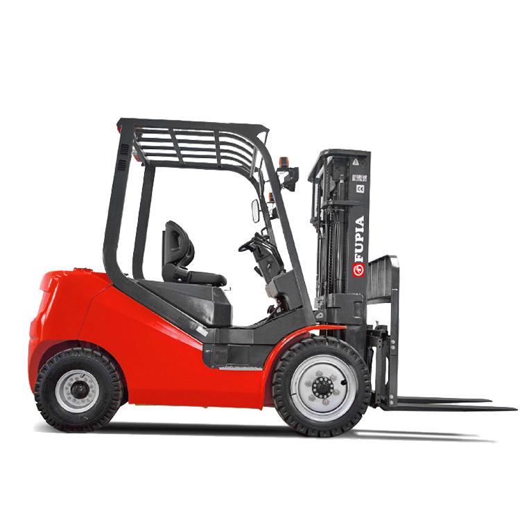 Material moving forklift 3 ton caterpillar Utilev hytsu technology forklift with triplex full free mast