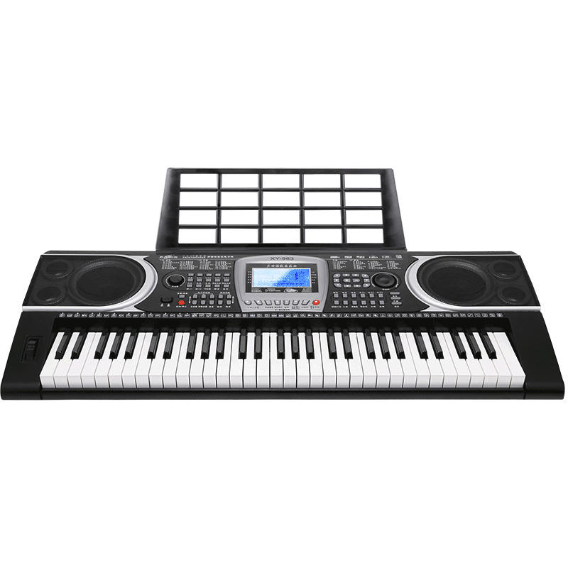 "61 electronic organ Keys 6"" LCD Digital Piano Keyboard for children Training Beginners Instrument musical Wholesale XY963"