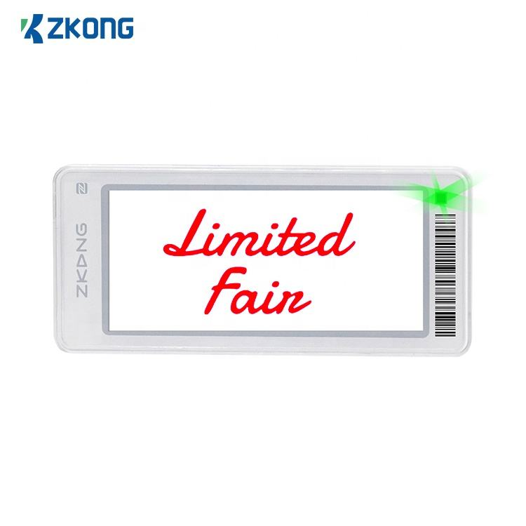 Zkong Store lcd for digital price tags price display counter stand tag plastic price e-ink tag