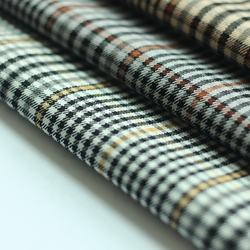 Newcoming Check Design NR Bengaline Fabric For Women Pants
