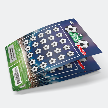 Custom Professional Lottery Scratch Card Printing Anti-fake Lottery Scratch Ticket Provider in China