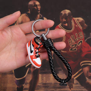 High quality Air Jordan Pvc 3d Mini Sneaker Basketball Shoe Keychain Rapid delivery of large spot supplies