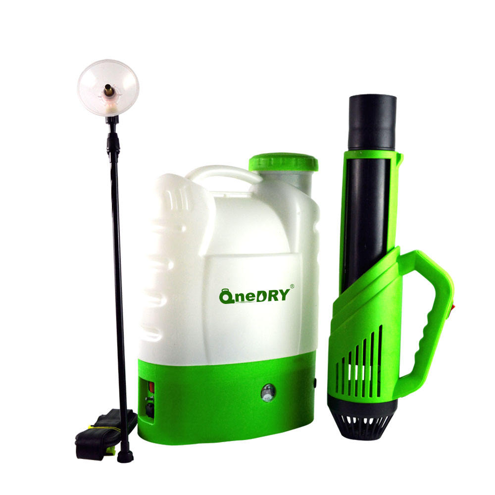 16L cordless backpack electrostatic mist sprayer in stock portable handle fogger machine sprayer ulv fogger for disinfection