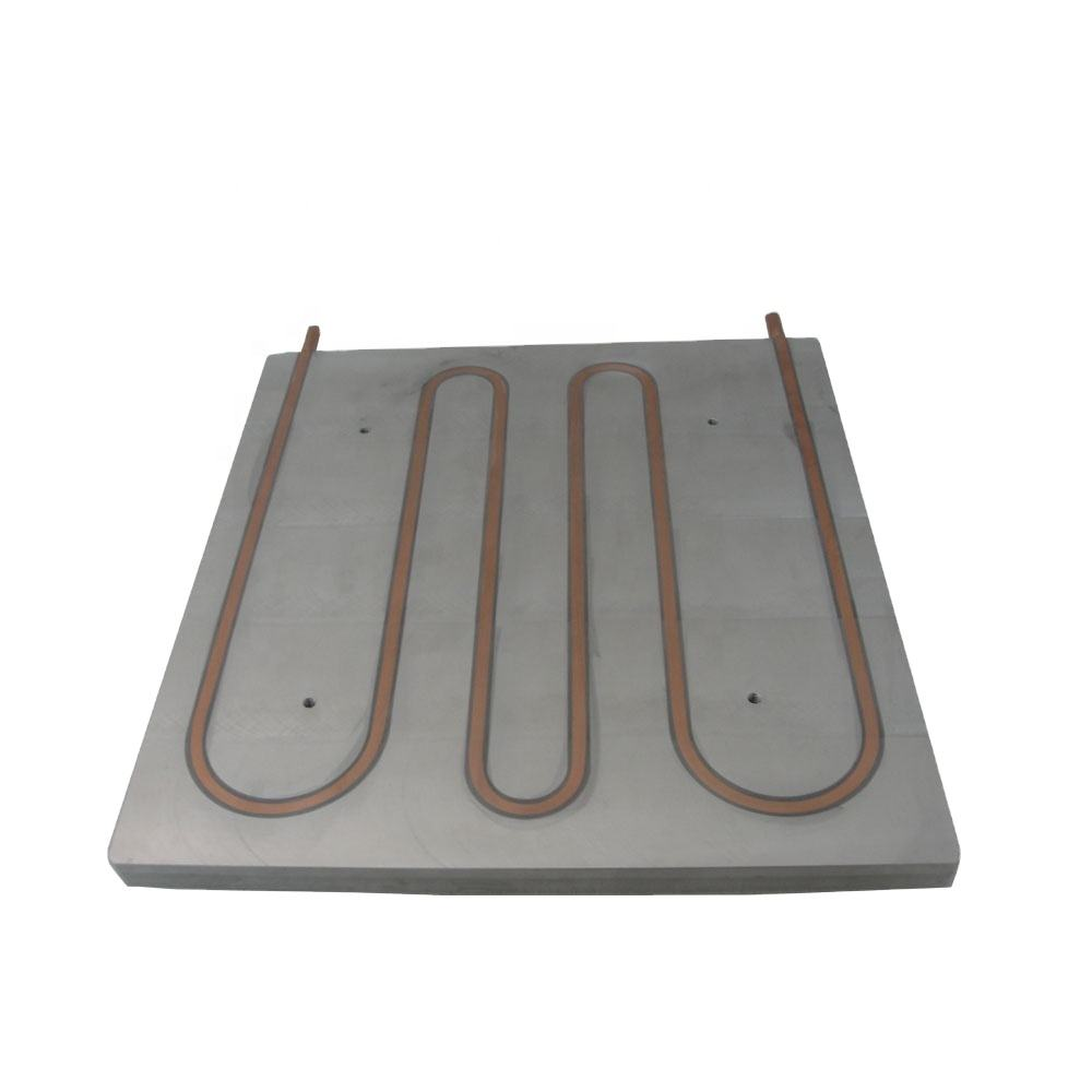 Customized aluminum plate with copper tube heat exchanger for industry