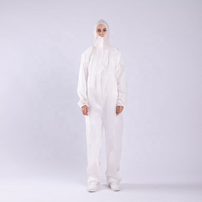 Disposable medical non-woven protective clothing waterproof protective clothing manufacturers for medical personnel to wear