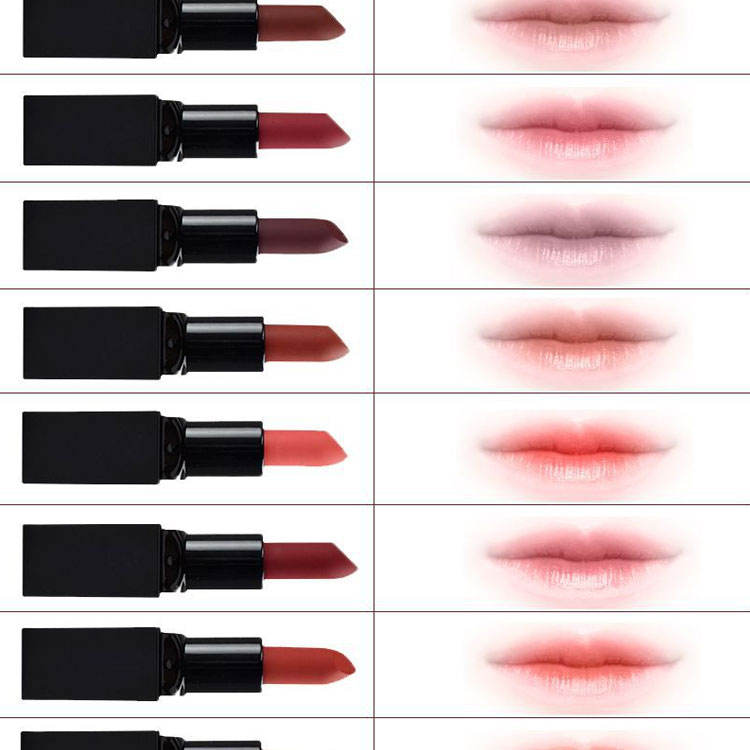 12 colors lipstick factory price lipstick private label no fade cosmetic lipstick