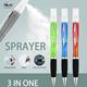 Pen Pen Co 2 In 1 Hand Wash Alcohol Hand Sanitizer Gel Spray Dispenser Ballpoint Pen