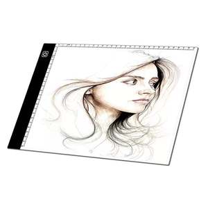 Rectangle Shape and LED+acrylic Material A4 Drawing Tablets Tracing LED Light Pad