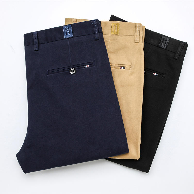 High Quality Casual Clothing Chino Pants Slim Mens Wholesale Pantalones De Hombre Men Pants Trousers
