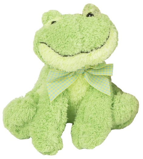 Promotion Gift Plush Green Frog Toy Promotional Cute Stuffed Animal Soft Frog Plush