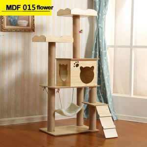 Indoor Big Size Sisal Cat Tree With Ladder