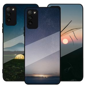 Custom TPU PC Blank Sublimation Cell Phone Case Cover For Huawei Honor 30 lite 30 pro DIY Printing Tempered Glass Phone Case