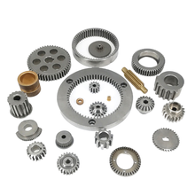China Suppliers OEM Aluminum Brass Stainless Steel small gear parts/spur brass gear