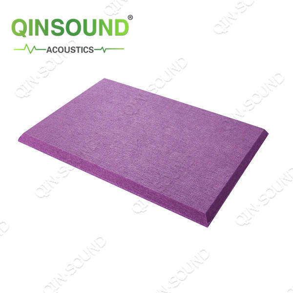 QinSound Malaysia theater Polyester Fiber Acoustic Sound Panel for Soundproofing