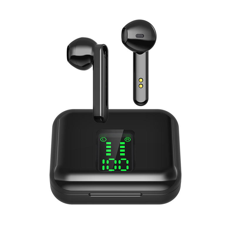 TWS Earbuds Wireless Headphone 6D Stereo Sport Earphones Headset with Charging Box Q5