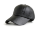 Wholesale High Quality sports caps Promotional Custom embossed winter leather baseball cap hat for men