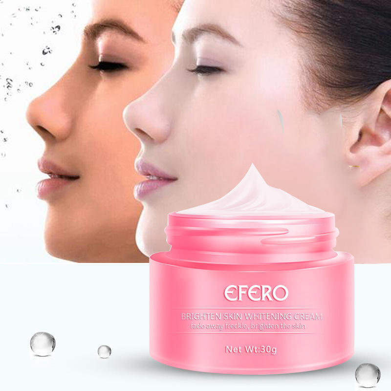 Herbal Beauty Natural Freckle Whitening Cream Remove Melasma Acne Spots Pigment Melanin Moisturizing Hydrating Kremi for Skin