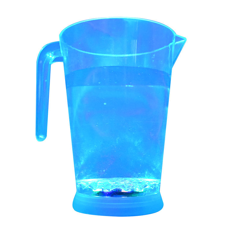 2.5 Litre Jug with Ice Chambers Pitcher Durable Plastic Water Juice Drink Blue L
