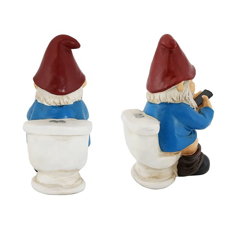 PUCTR Cheeky Garden Gnome Salt and Pepper Set