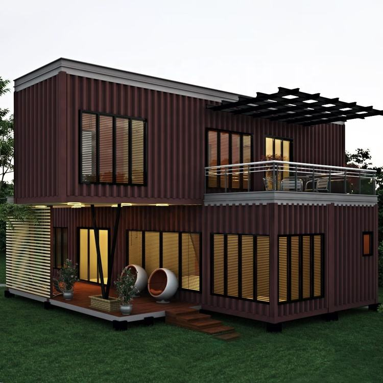 China big container house, prefab house modular luxury container for sale