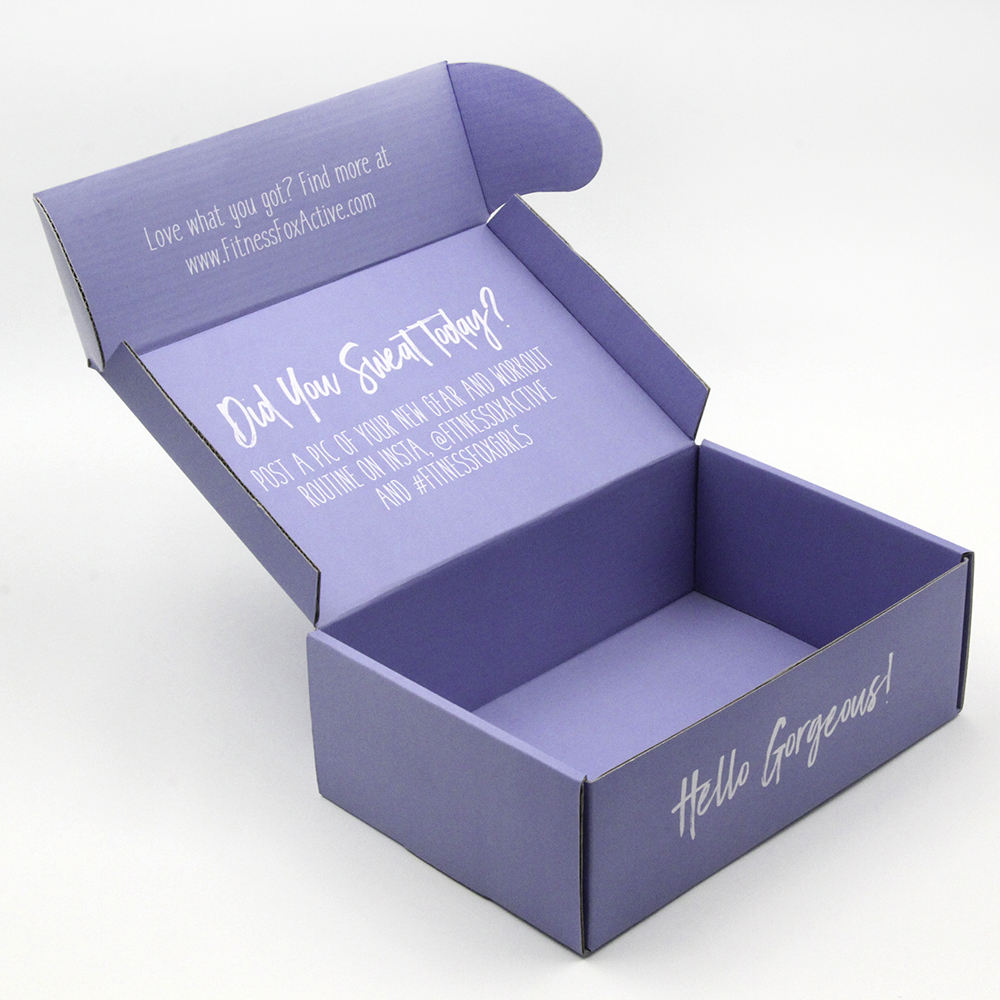 Custom Printed Craft Boxes Shipping Storage Box With logo printing