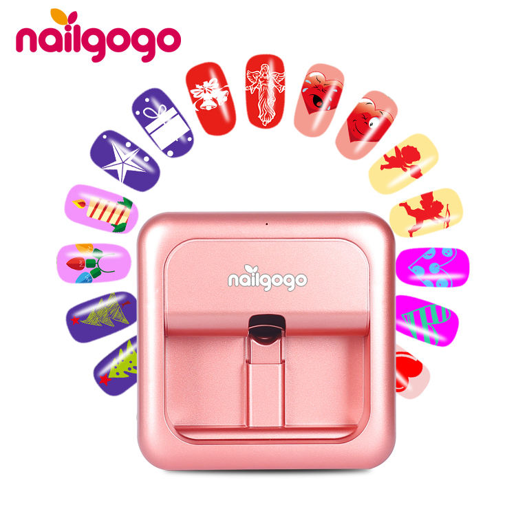 Portable mini automatic 3d smart wifi digital nail art printer machine