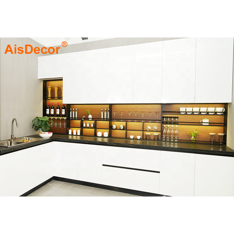 Modern Designs Good Price High Gloss Lacquer Kitchen Cabinet