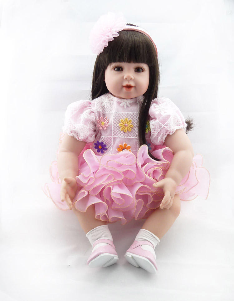 New hot products handmade silicone reborn baby dolls in cloth body