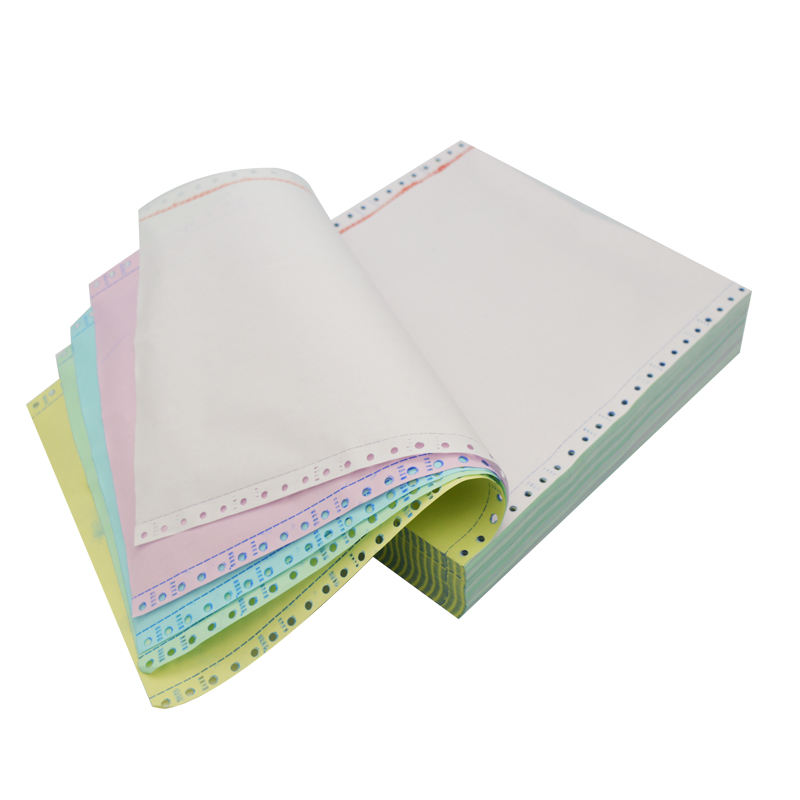 Wholesale 3-ply Continuous Carbonless Printing Dot Matrix Paper