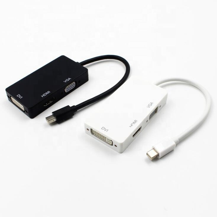 <span class=keywords><strong>Mini</strong></span> Displayport Thunderbolt <span class=keywords><strong>To</strong></span> Vga <span class=keywords><strong>Dvi</strong></span> Hd Mi <span class=keywords><strong>Mini</strong></span> DP <span class=keywords><strong>To</strong></span> <span class=keywords><strong>Hdmi</strong></span> 3 Trong 1 Hỗ Trợ 1080P Cho <span class=keywords><strong>Macbook</strong></span>