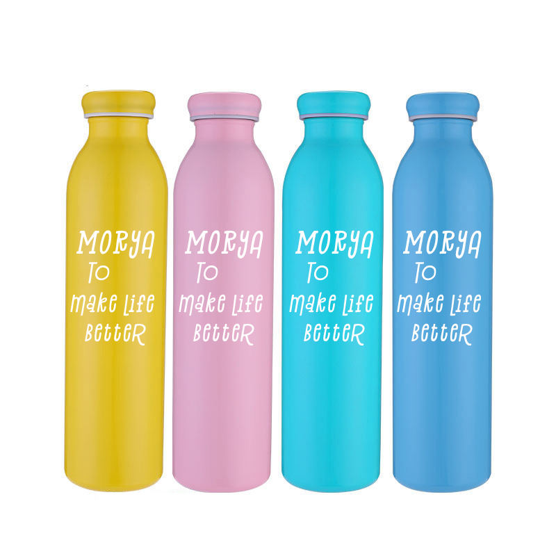 New product 20oz double wall 304 stainless steel vacuum thermos customized color logo 600ml milk bottle