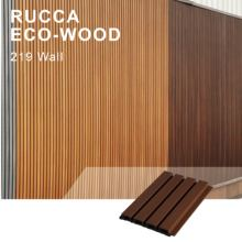 Rucca Modern WPC Exterior Outdoor Decorative Wall Cladding Panel Design Co-extrusion Panel Wooden Siding Board Building Siding