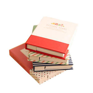 Wholesale Mini Lucu Perjalanan Hard Cover Saku Notebook dengan Pena